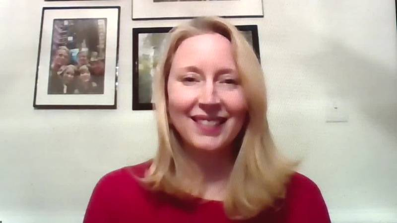 Michelle Nostheide of the American Heart Association in Richmond explains National Wear Red...