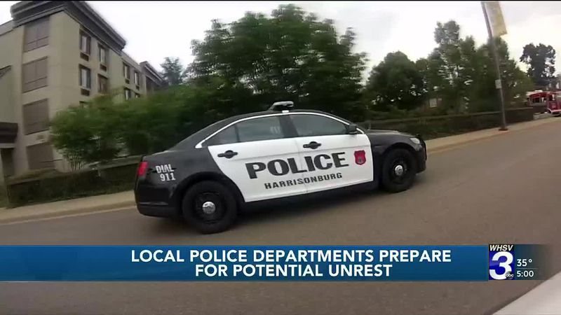 Local police department prepares for potential unrest