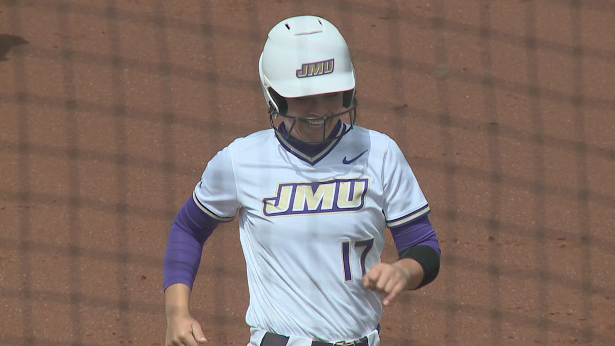 Kate Gordon's three-run home run was the difference in JMU's 3-1 win over no. 9 Tennessee.