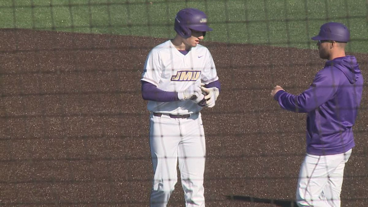 James Madison freshman outfielder/left-handed pitcher Chase DeLauter has been named a...