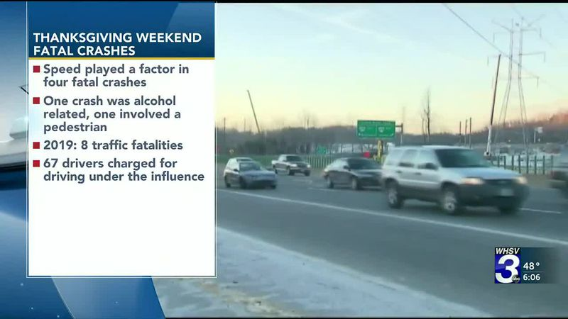 VSP: Thanksgiving Holiday Weekend crashes claim 10 lives