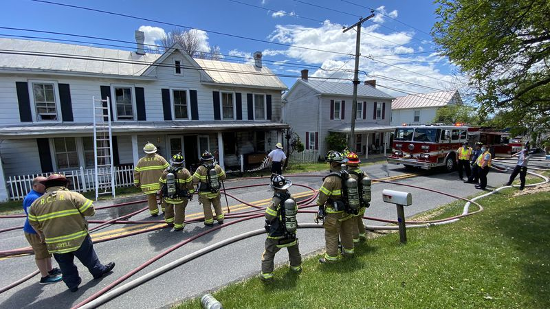 Officials responded to a house fire located in the 1500 block of Indian Trail Road in...