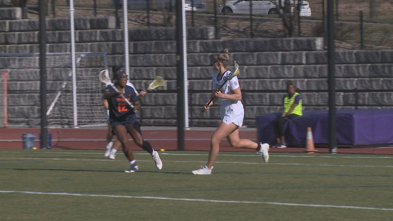 The No. 22 James Madison women's lacrosse team lost to No. 8 Virginia, 15-12, Friday night at...
