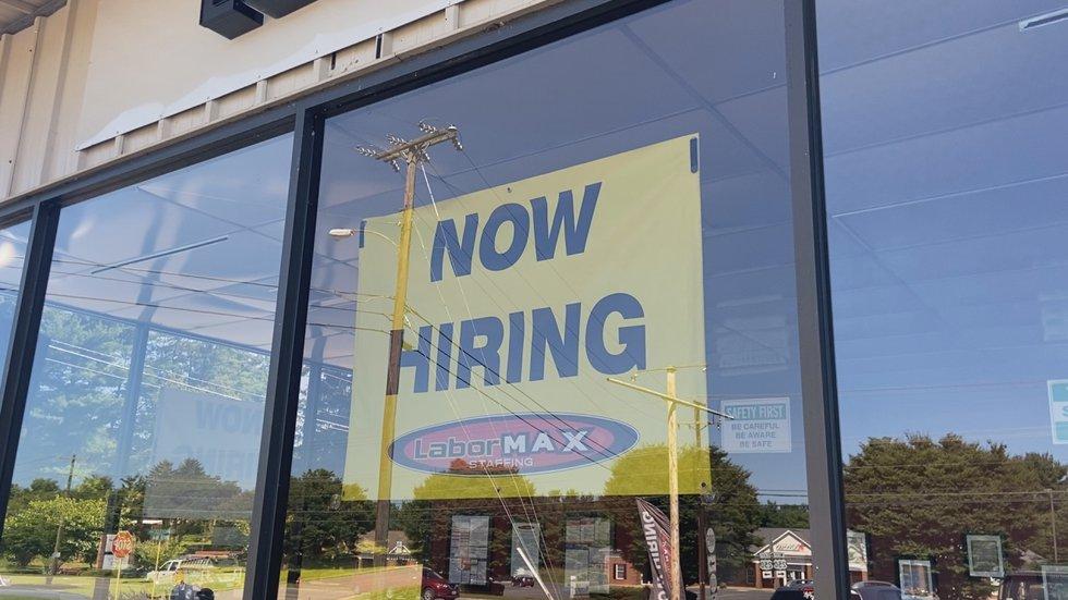 Now hiring sign up at LaborMax in Waynesboro. (WHSV)
