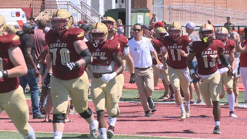 The Bridgewater College football team is preparing for an ODAC showdown this Saturday at home.