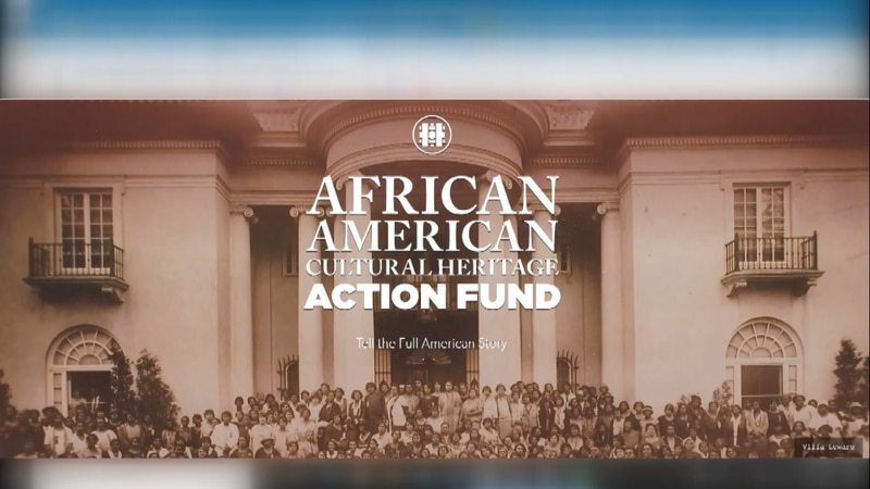 African American Cultural Heritage Action Fund website