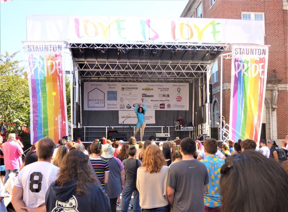 Staunton's last pride festival was in 2018. Now, they're gearing up for another.