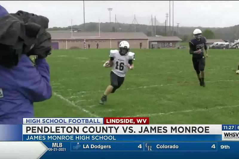 H.S. Football: Pendleton County falls to James Monroe
