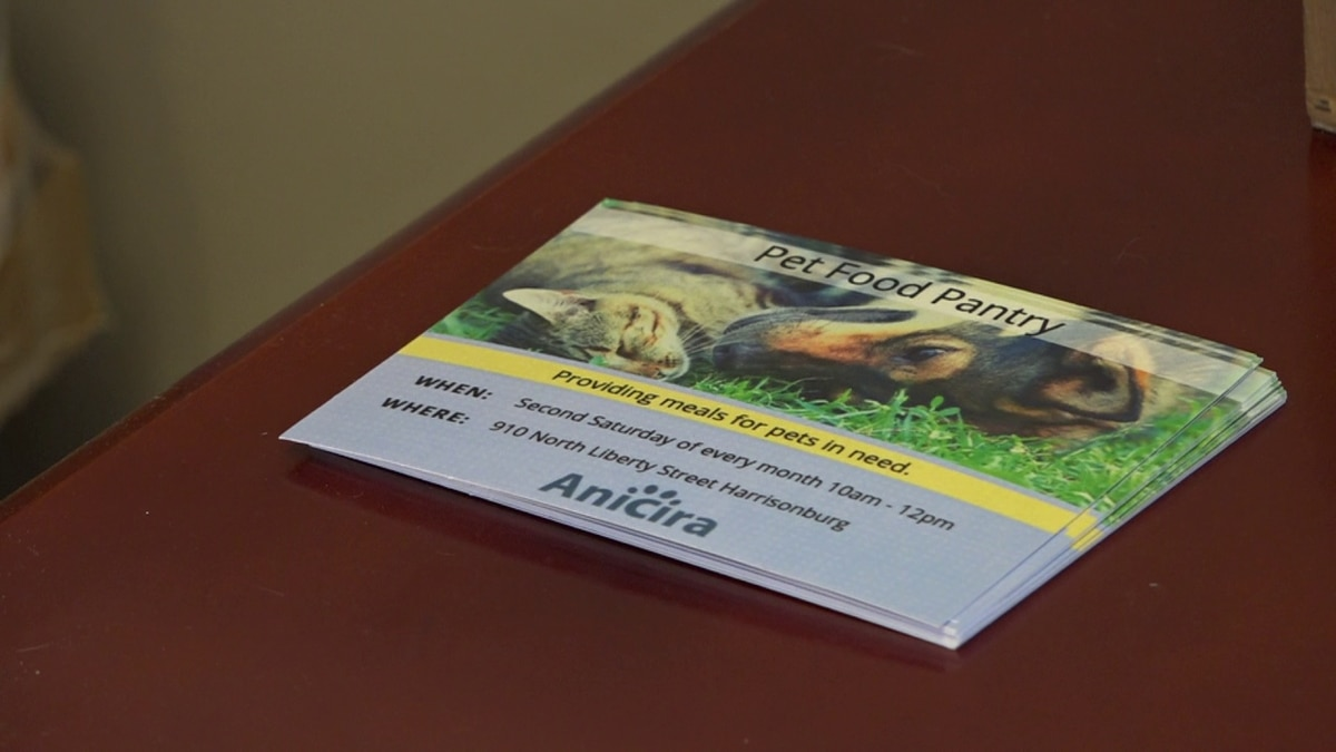 The ANICIRA Adoption Center is hosting a pet food donation drive until the end of September.