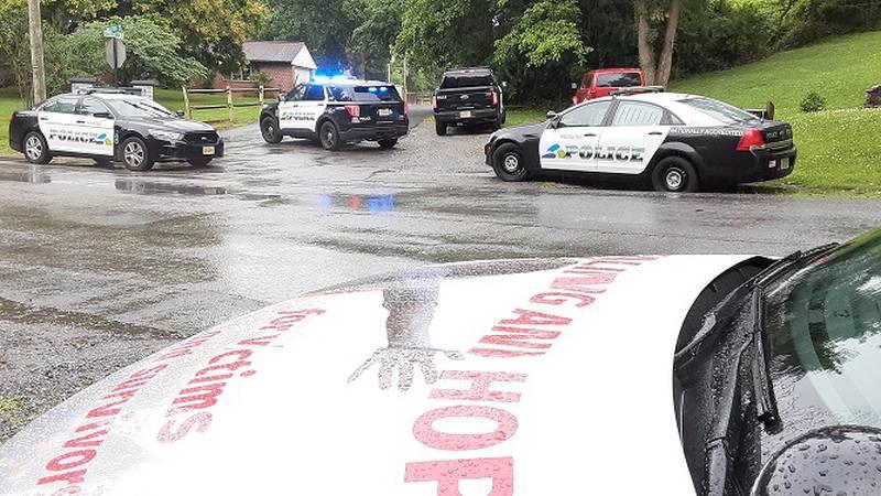 Scene of a shooting on Panorama Avenue in Roanoke