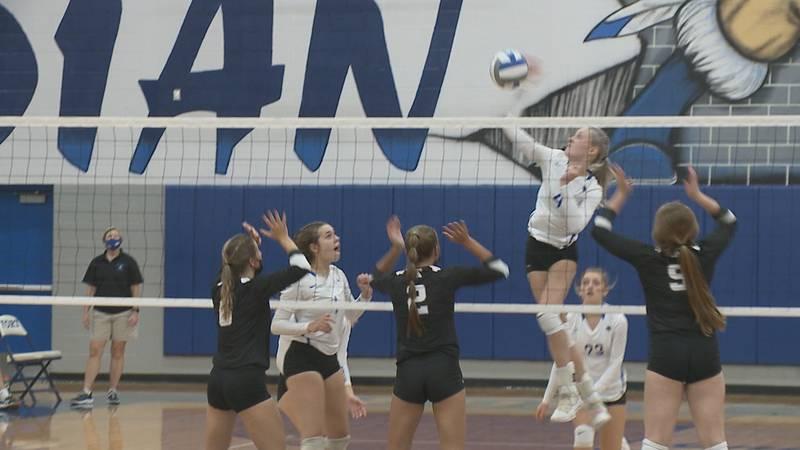 High school volleyball scores from Thursday, September 9.