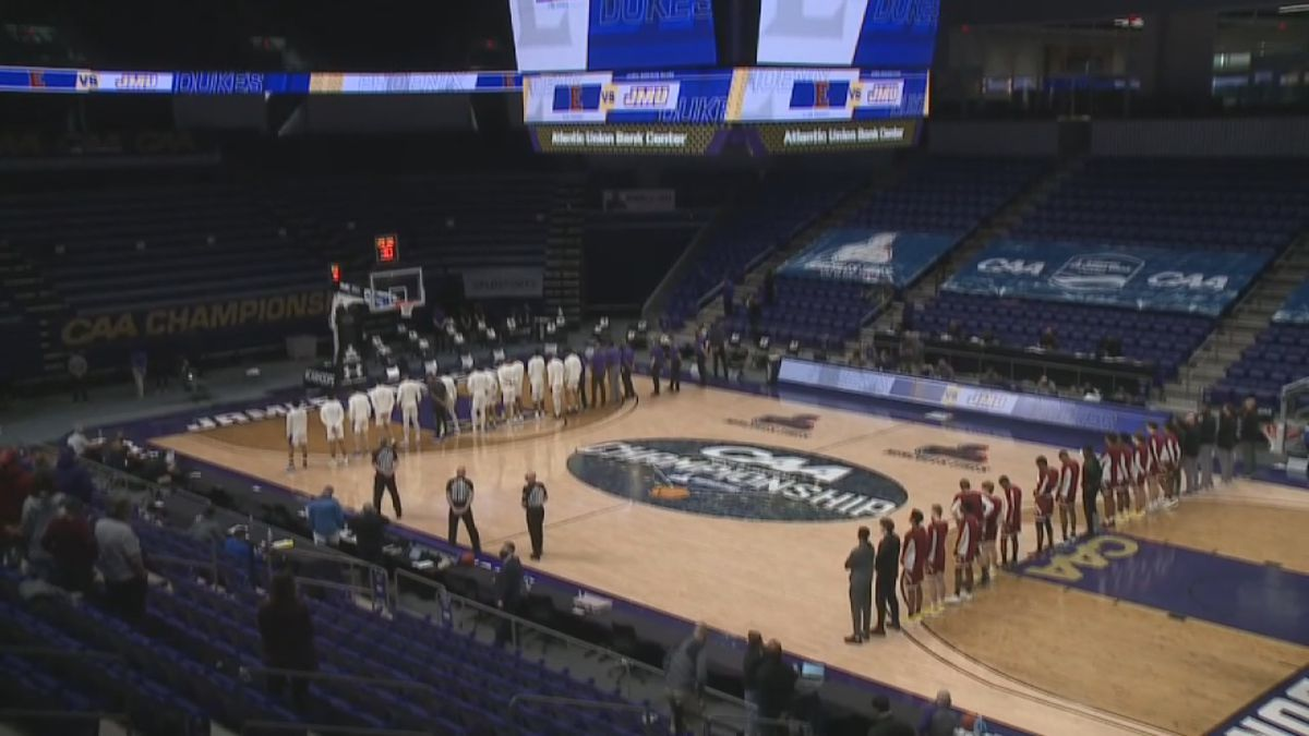 2021 CAA men's basketball tournament at the Atlantic Union Bank Center