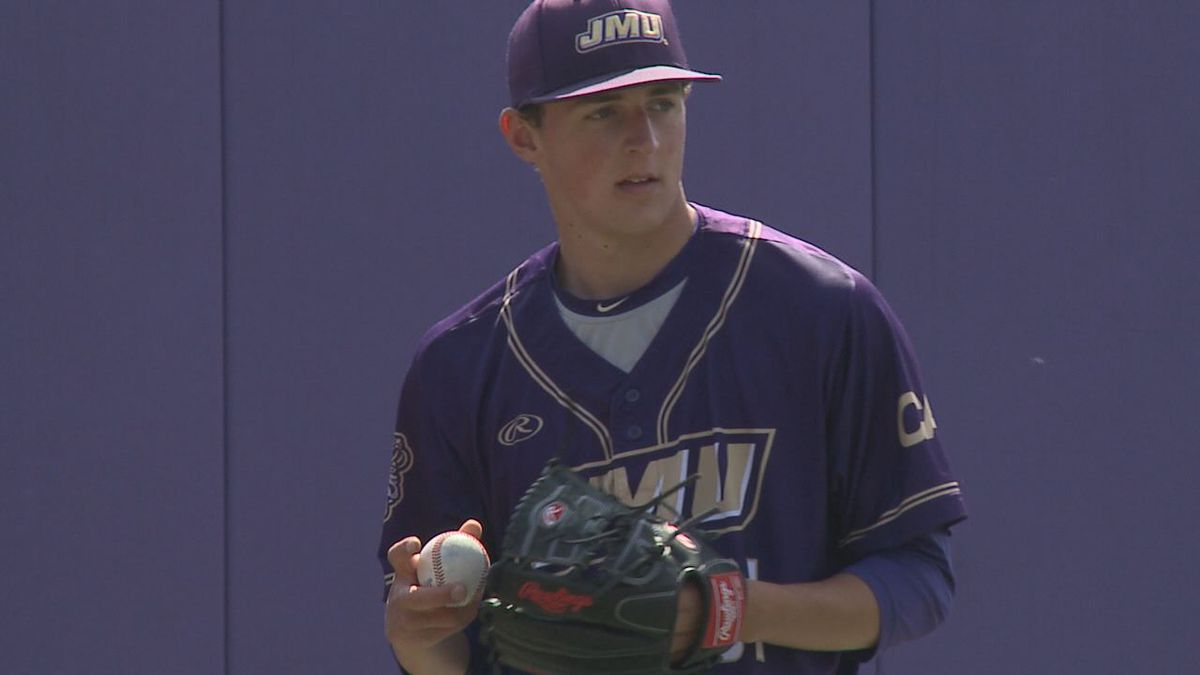 James Madison junior right-handed pitcher Justin Showalter has an uncertain, but bright future on the mound.