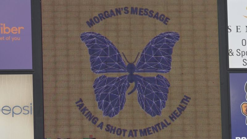 "JMU Lacrosse Team holds ""Morgan's Message"" game"