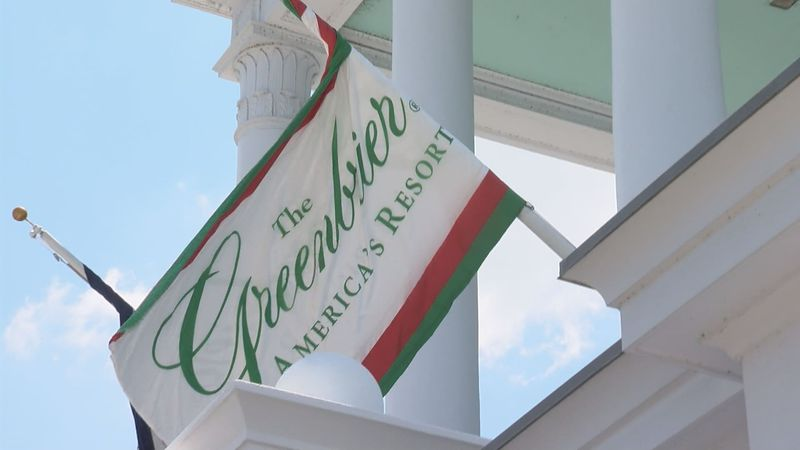 The Greenbrier resort in White Sulphur Springs, W.Va.