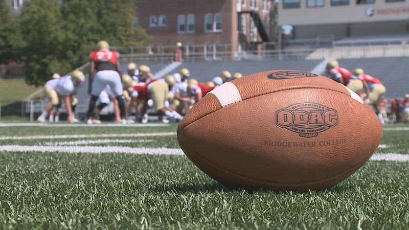 The Bridgewater College football team is preparing to play its first game of the 2021 ODAC...