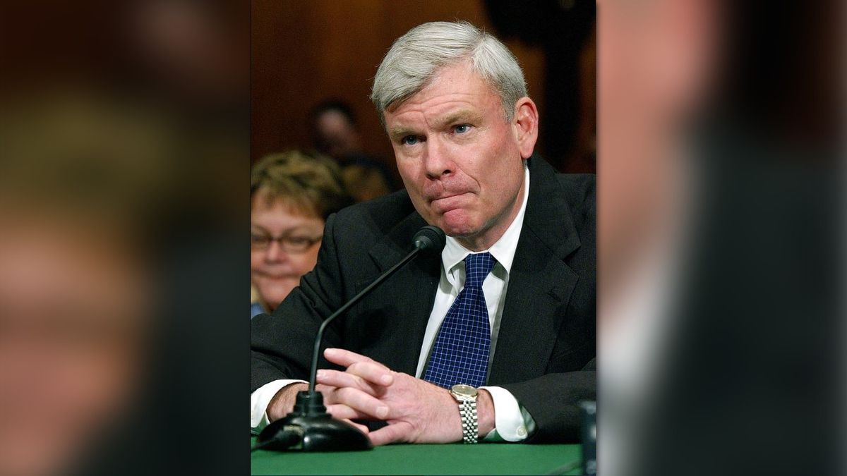 FILE - In this March 3, 2005 file photo Judge Terrence Boyle appears before the Senate...