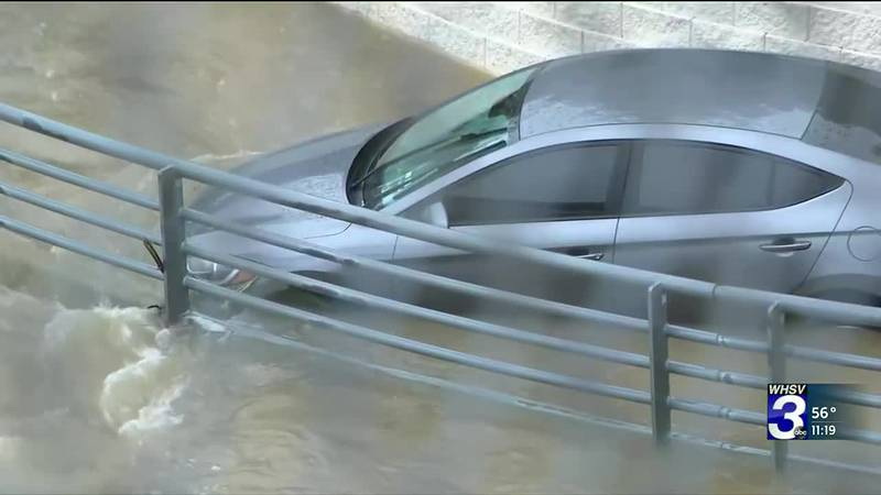 Heavy rain has created flash flooding resulting in at least 4 deaths