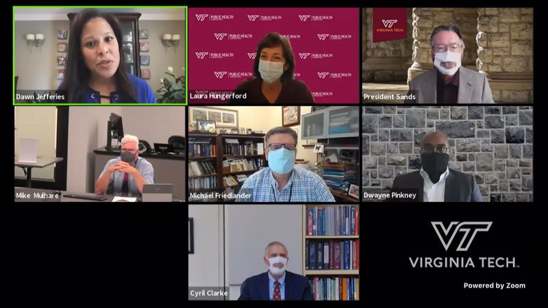 On Friday, President Dr. Tim Sands held a virtual town hall to answer community questions about...