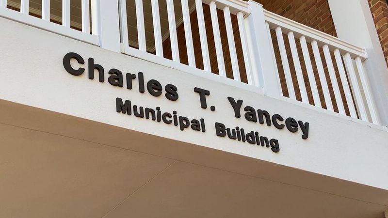 Charles T. Yancey Municipal Building in Waynesboro