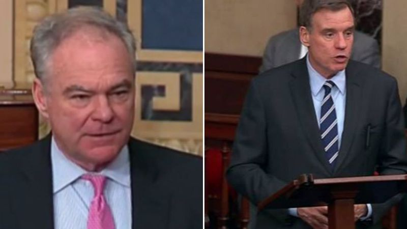 Tim Kaine and Mark Warner (Source: Office of Tim Kaine and Office of Mark Warner)