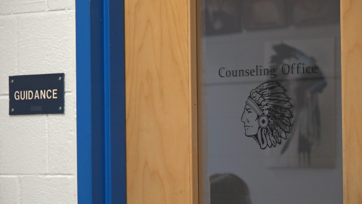 The counseling office at Fort Defiance High School is currently where students can go to take a...