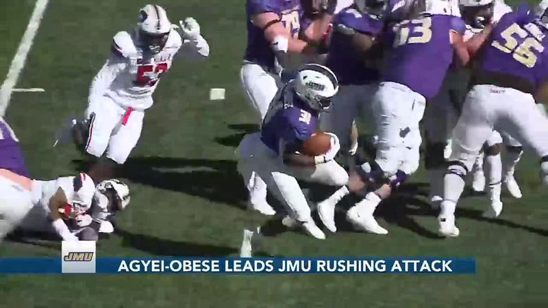 Agyei-Obese leads JMU rushing attack (11 p.m.)