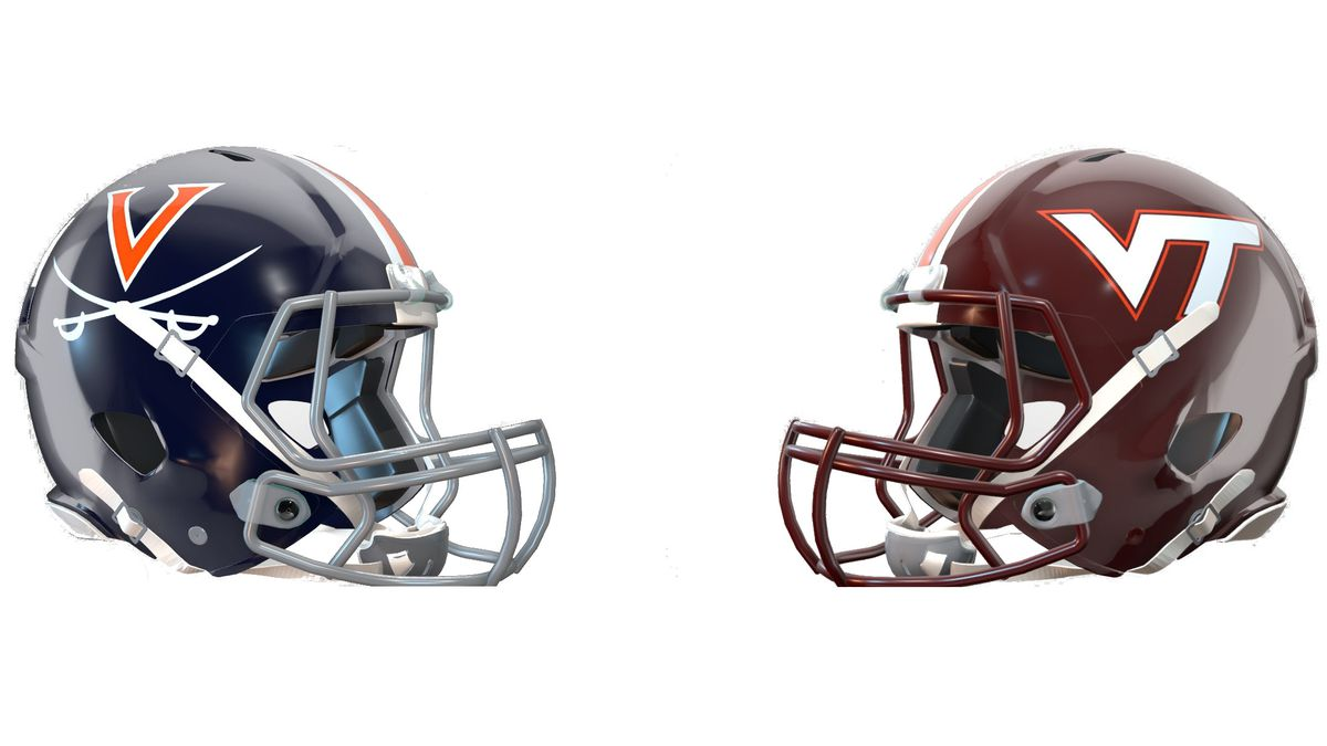 The University of Virginia and Virginia Tech football teams are looking to rebound from losses this past Saturday.