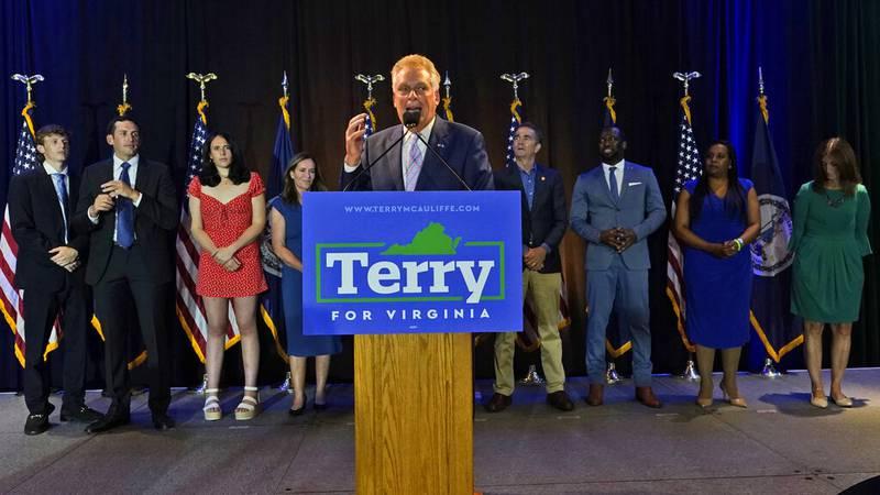 Winner of the Virginia Democratic gubernatorial primary, former Virginia Gov. Terry McAuliffe,...