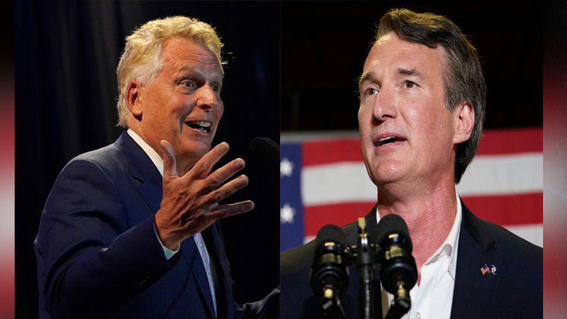 McAuliffe has raised about $15 million overall. Youngkin drew in $16 million with about $12...