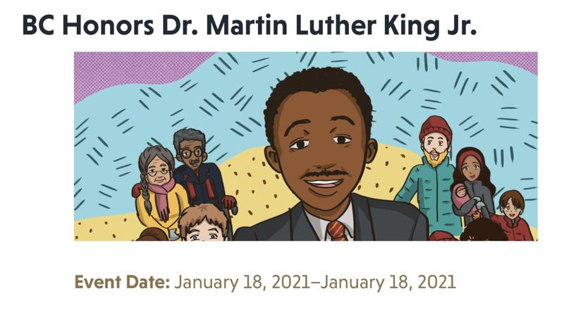 BC honors Dr. Martin Luther King Jr.
