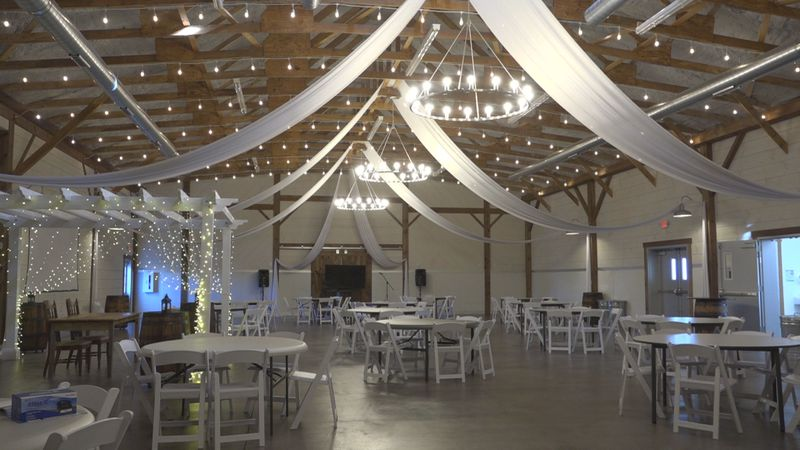 Frieden Farms event space in Mount Crawford.
