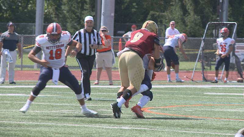 The Bridgewater College football team's defense is coming off a strong performance in the...