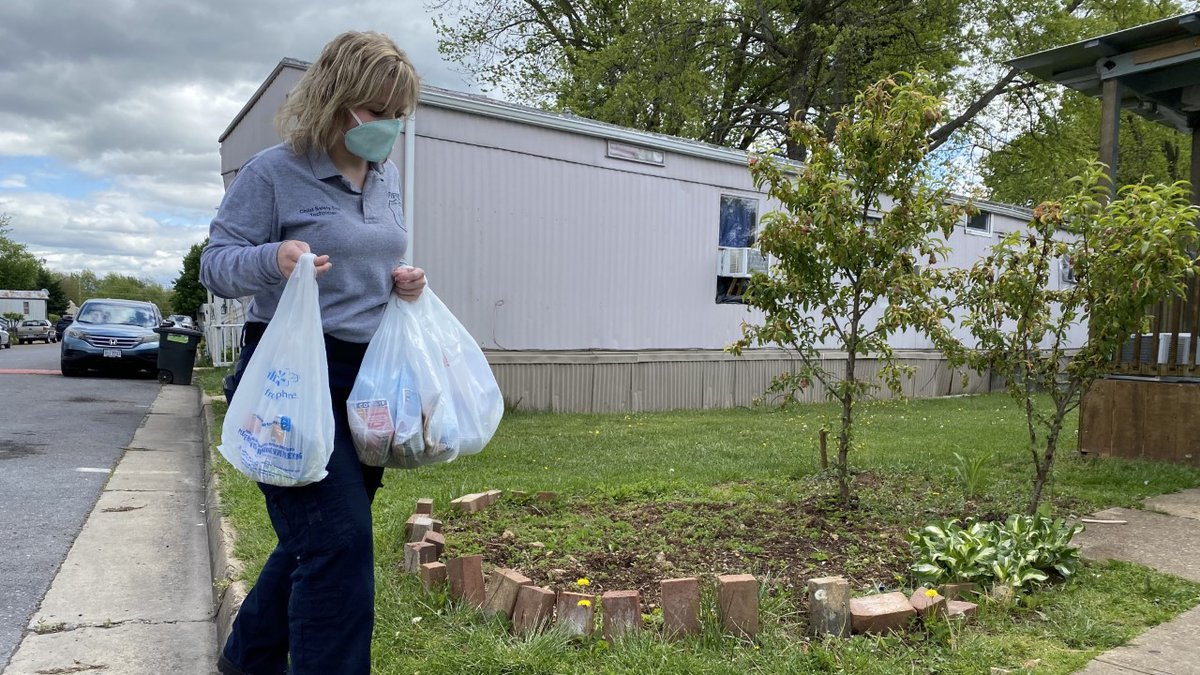 The city plans on passing out all 1100 care kits by the end of this week.