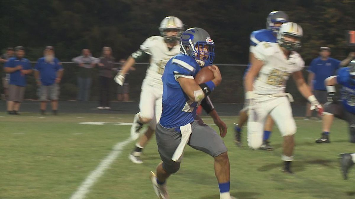 The Spotswood football team is off to a 5-0 start in 2019.