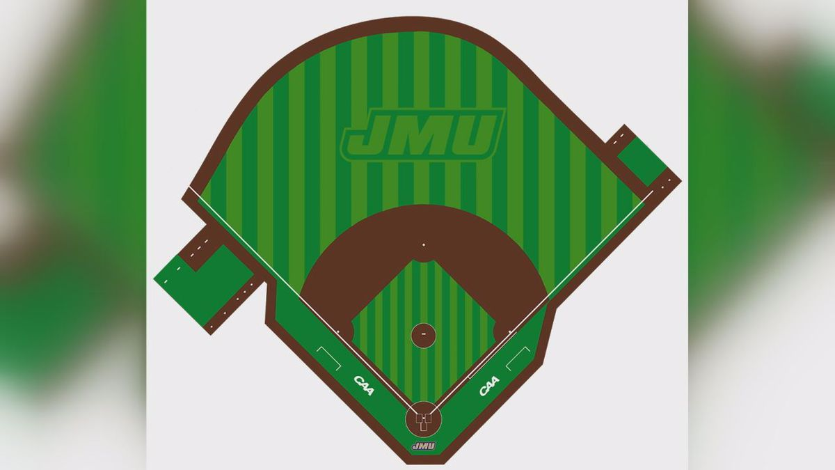 A new design is coming to Eagle Field at Veterans Memorial Park, the home of James Madison baseball.