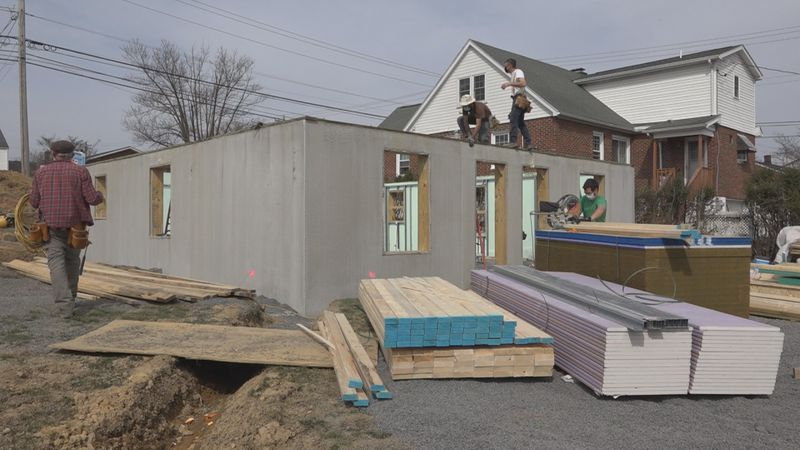 This home is a part of the faith build project going on at Virginia Avenue which involves...