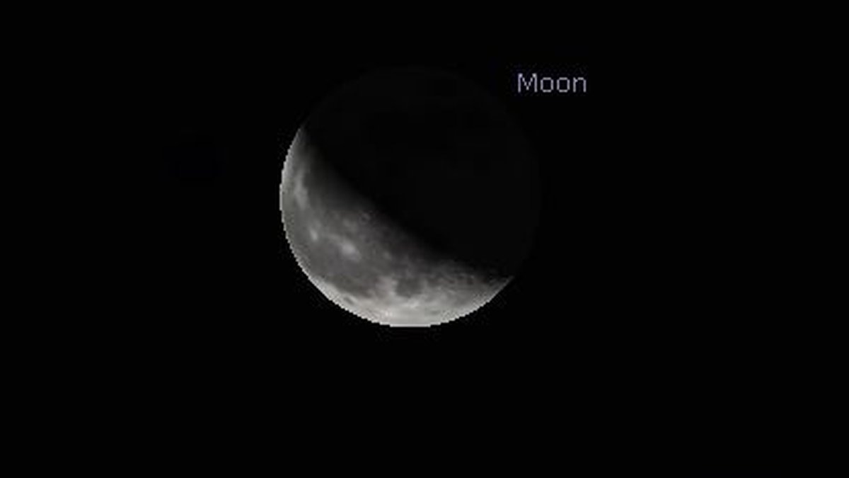 A Third Quarter Moon will be visible for a second time in August.