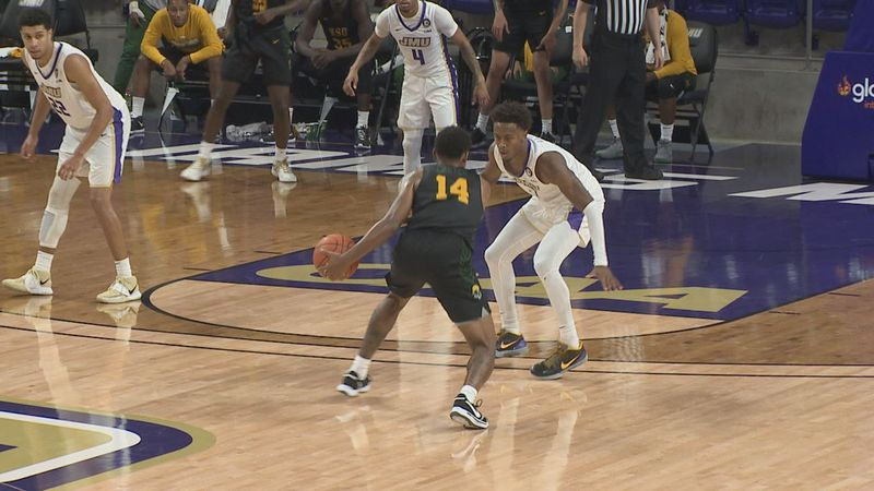 The James Madison men's basketball team lost to Norfolk State, 83-73, Friday afternoon at the...