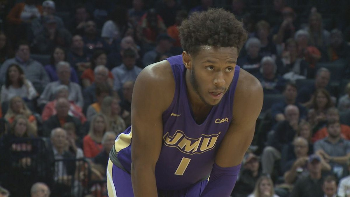Matt Lewis has a chance to become James Madison's all-time leading scorer.