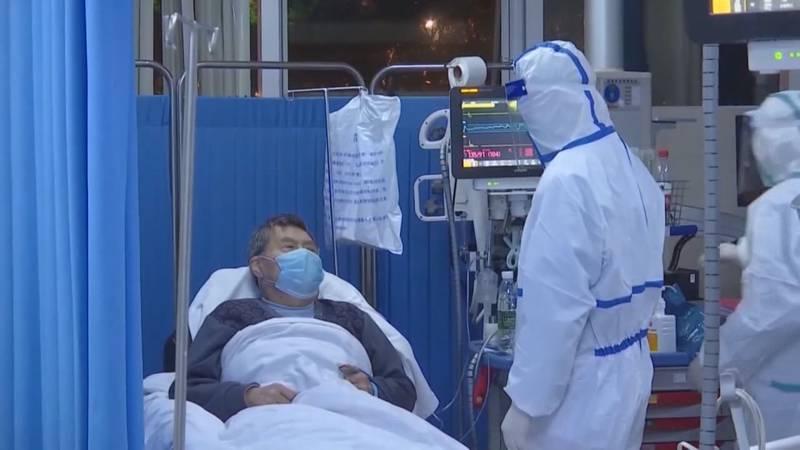 A patient in a COVID unit (WHSV File)