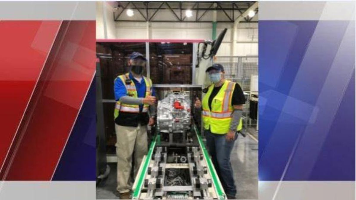 Toyota West Virginia rolls out first hybrid transaxle
