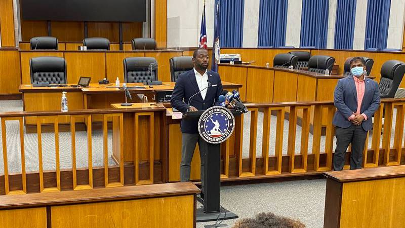 During a press conference Wednesday, Mayor Levar Stoney announced that employees should submit...