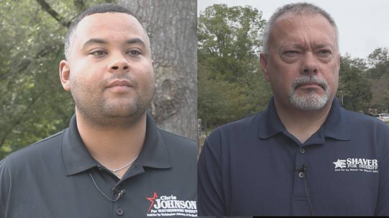 Johnson and Shaver will face off for the position of Waynesboro City Sheriff.