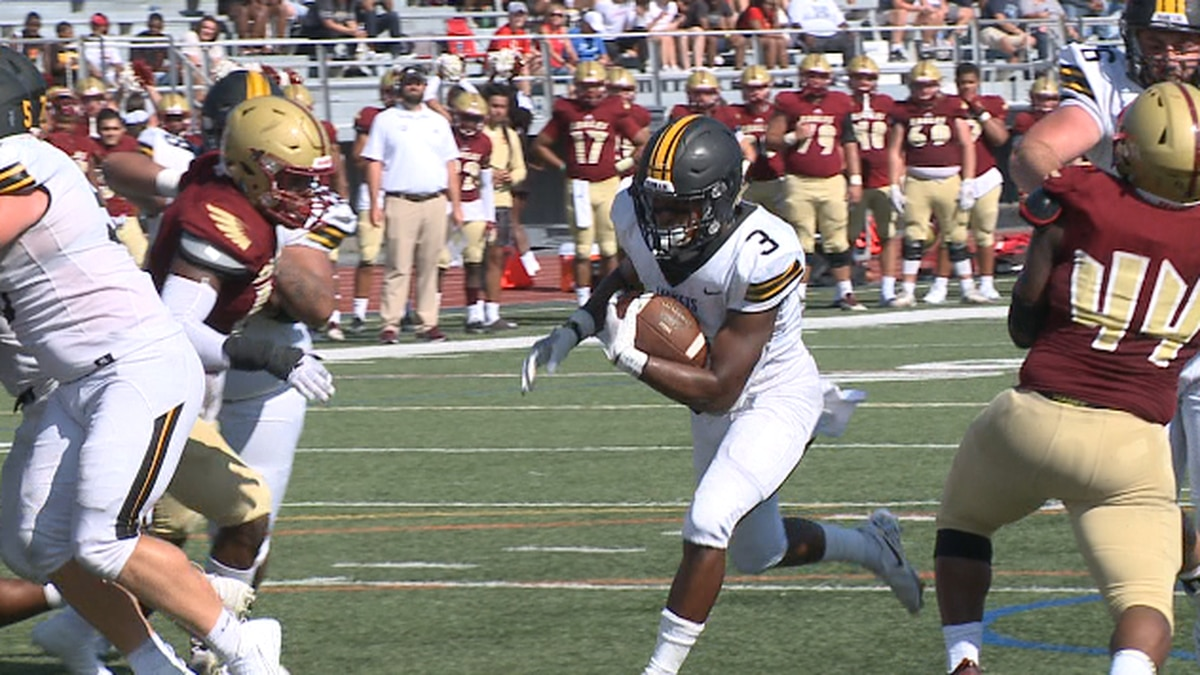 The Bridgewater College football team suffered its first loss of the season Saturday afternoon.