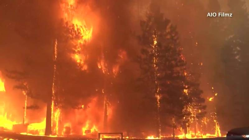 The Dixie Fire in Northern California wiped out an entire town