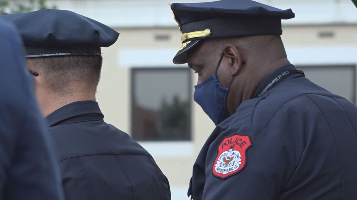 Chief English said officers will be given resources on incidents involving police violence from...