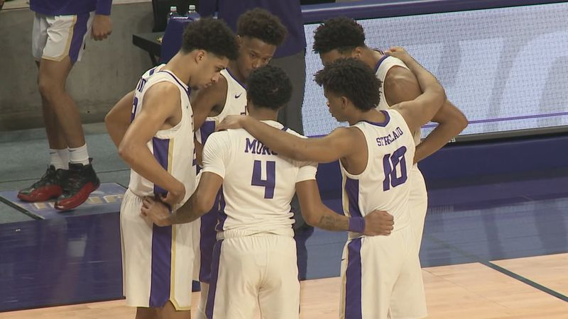 The James Madison men's basketball team is looking to build off a strong performance during the...