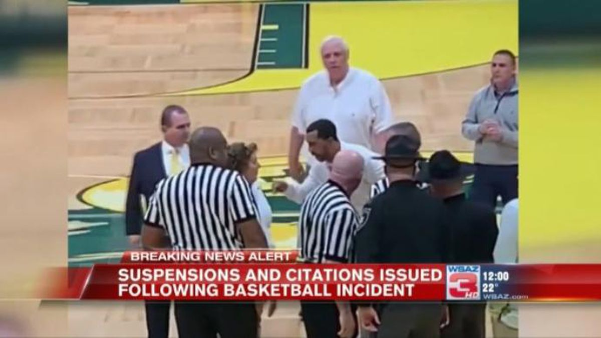 Several Woodrow Wilson basketball players have received game suspensions following an incident in a game against Greenbrier East High School.