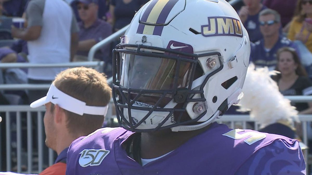James Madison redshirt senior defensive end Ron'Dell Carter has been voted one of...